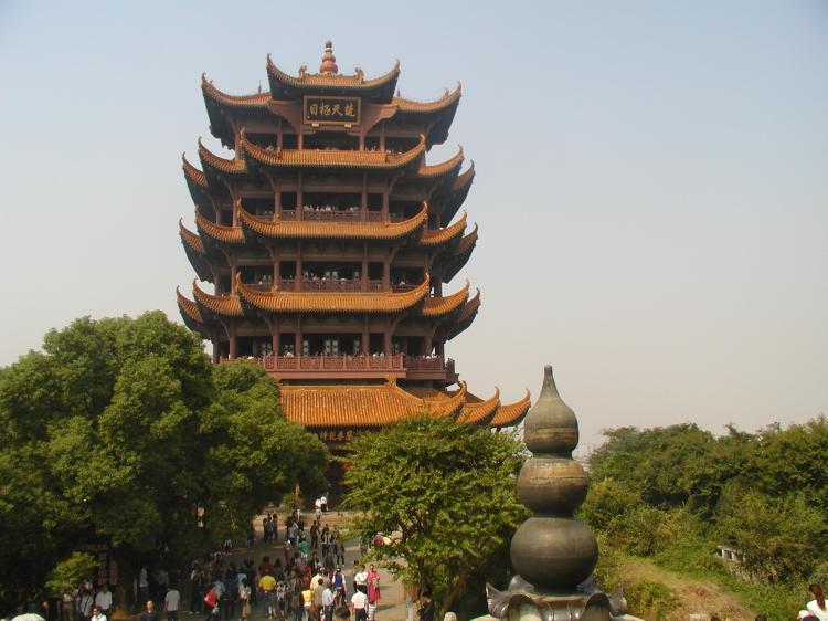 رج درنای زرد، یکی از چهار برج بزرگ چین است. (لیچیان/ اِپُک تایمز)