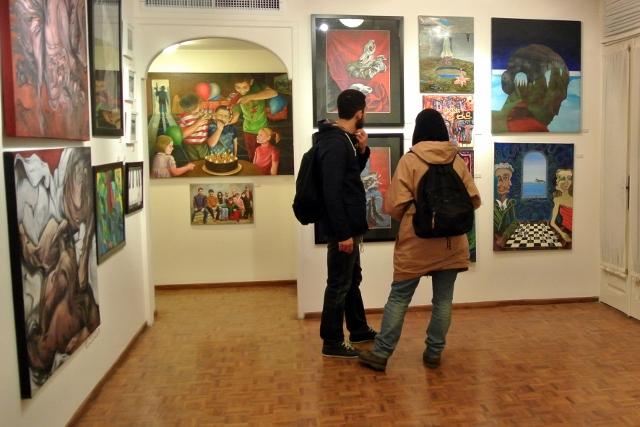 نمایشگاه استاکیستهای بینالملل، گالري دي در تهران (اپکتایمز)