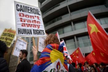 تظاهرات، شی جین پینگ