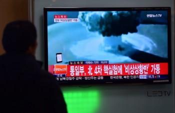 تست بمب هیدروژن کره شمالی در سئول