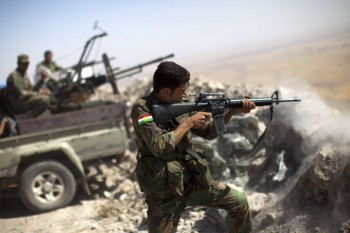 پیشمرگه کرد عراقی داعش