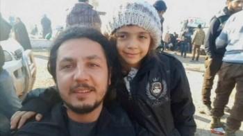 بنا العابد دختر هفت ساله سوری که پست هایش در توییتر معروف شد از حلب خارج شد
