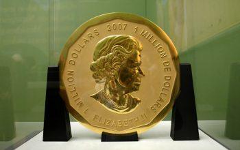 سکه دزدیده شده از موزه برلین برگ بزرگ افرا