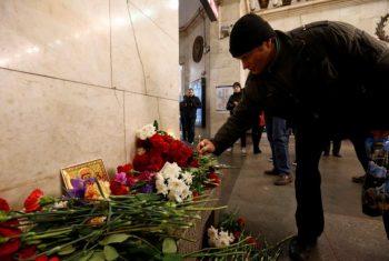 انفجار متروی سنت پترزبورگ
