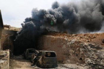 غیر نظامیان کشته شده در جنگ با داعش