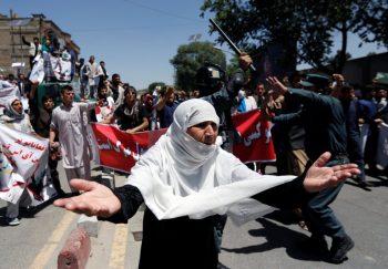 اعتراضات در کابل
