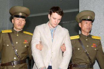 اتو وارمبیر»، دانشجوی ۲۲ ساله آمریکایی در کره شمالی