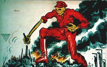 پوستر آلمانی ضد بلشویک ۱۹۱۹
