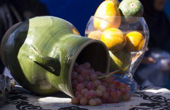 آیین شکرگزاری برداشت انگور، استان مرکزی - روستای هزاوه (ویدئو)