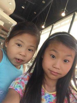 وقتی دو خواهر چینی در آن سر دنیا به هم میرسند