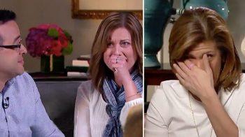 اشک شوق مجری تلویزیون هنگام دادن خبر خوب به زوج منتظر