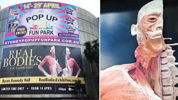 نمایشگاه سیاه اجساد این بار در سیدنی
