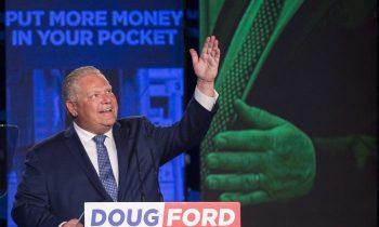 داگ فورد رهبر حزب محافظه کار انتاریو