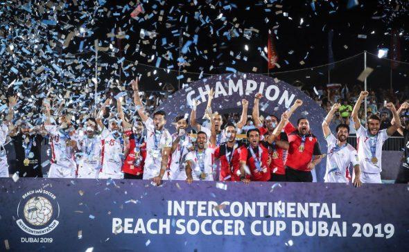 تیم ملی فوتبال ساحلی ایران برای سومین بار قهرمان جام بین قارهای شد