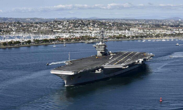 تئودور روزولت (U.S. Navy via Getty Images)