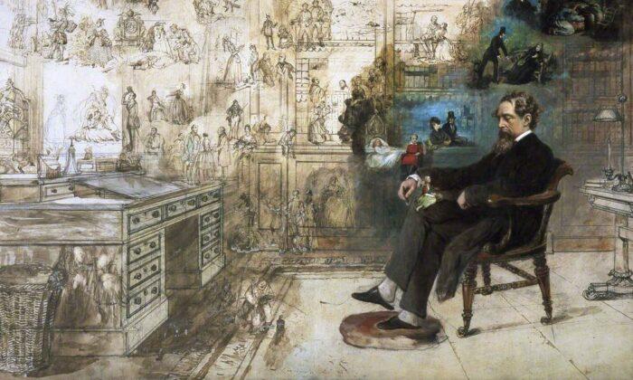 زندگی چارلز دیکنز پس از مرگش آیا دیکنز واقعی پابرجا خواهد ماند؟ دیوید کاپرفیلد جوان در این رمان مینویسد: «من اشکهایم را با آبی درهم آمیختم