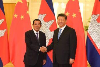 تسخیر کامبوج توسط چین به بهانه مشارکت اقتصادی مشابه قراردادی نظیر تفاهم ۲۵ ساله همکاری با ایران که چین، با بسیاری از کشورهای ضعیفتر میبندد