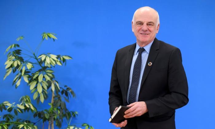 دیوید نابارو، نماینده ویژه سازمان بهداشت جهانی (Fabrice Coffrini/AFP via Getty Images)