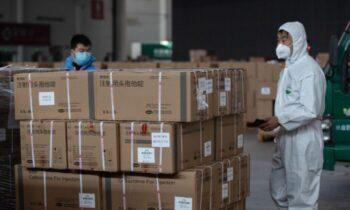 مقامات چین، تجهیزات اهدایی حافظت شخصی در برابر کووید ۱۹ را احتکار میکنند افشای این احتکار توسط جیانگ پنگیونگ، مدیر کل شرکت فناوری شنژن ر