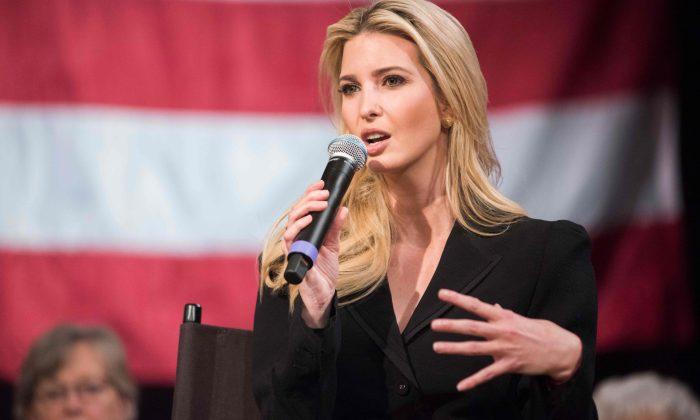 ایوانکا ترامپ دختر دونالد ترامپ (Ryan Mcbride/AFP/Getty Images)