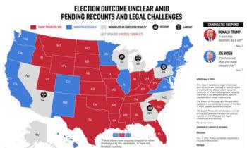 کارزار انتخاباتی ترامپ سردرگمی درباره نتیجه انتخابات آمریکا: آنچه درباره وضعیت شکایت در ایالتهای کلیدی باید بدانید دریافت آرا از افراد