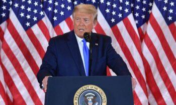 دونالد ترامپ کار را به دادگاه عالی میکشانیم تا رایگیری متوقف شود دونالد ترامپ، رییس جمهور آمریکا چهارشنبه صبح پس از اعلام برنده شدن