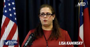 حزب جمهوریخواه «لیزا کامینسکی» که در تاریخ ۱۴ و ۱۵ نوامبر ناظر بازشماری آرای شهرستان فولتن بود، در ۹ دسامبر اظهار نامه خود را شرح داد که قبلا