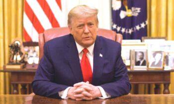 کمونیسم دونالد ترامپ در کارزار انتخابی خود در سال ۲۰۱۶ هرگز وعده نداد که با گسترش کمونیسم مقابله کند اما تلاشها و اقدامات او علیه چین