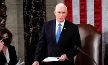اصلاحیه بیست و پنجم پنس گفت: «من از شما و همه اعضای كنگره میخواهم كه از اقداماتی كه باعث تفرقه و التهاب بیشتر در این زمان میشود، خودداری