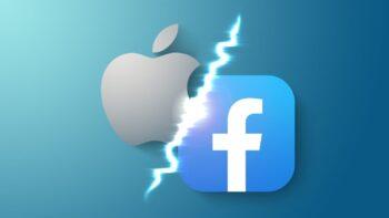 جنگ اپل و فیس بوک