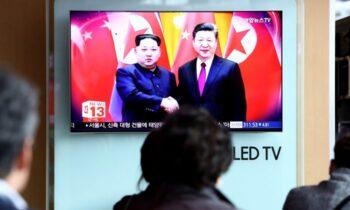 نیرهای متخاصم همزمان با شلیک موشکهای کره شمالی، چین و این کشور بر اتحاد خود علیه «نیروهای متخاصم» تاکید کردند دومین بار از زمان جوبایدن