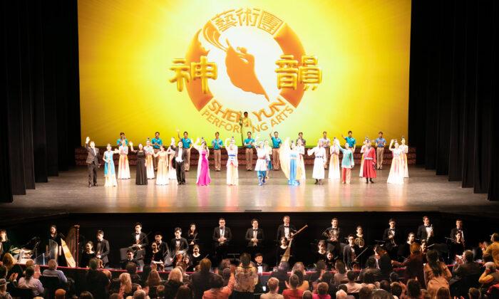 هنرهای نمایشی شن یون در مرکز لینکلن ، نیویورک، در 11 مارس 2020. (Edward Dye / The Epoch Times)