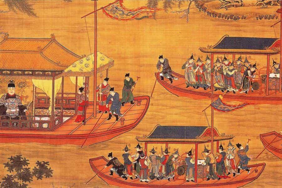 پول ژانگ یوئه در دوران كاییوان در زمان امپراتور شوانزونگ در سلسله تانگ صدراعظم بود. او به داشتن خرد منحصر به فرد دربارۀ پول مشهور بود که آن