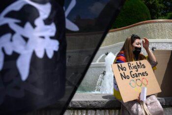 حقوق بشر «مایه ننگ و تاسف»: انتقاد شدیدالحن قانونگذاران از کوکاکولا، ویزا، ایربیانبی به خاطر حمایت از «المپیک نسلکشی» پکن شما به قدری از