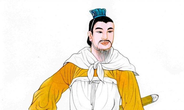 هن شین، رزمآرایی کمنظیر و درخشان، با پیشینه ضعیف خانوادگی، الگویی برای فضیلت و وفاداری شده است.       (Blue Hsiao/The Epoch Times)