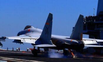 جنگنده وزارت دفاع ملی تایوان گفت، تایوان با استقرار نیروهای گشت هوایی به اقدامات خصمانه پاسخ داد و هواپیماهای چینی را در سیستمهای پدافند ه